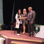 Achievement Award for Rebekah!