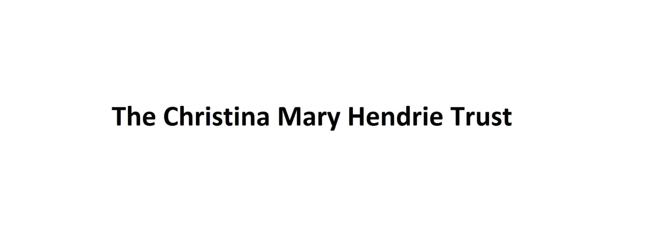 Christina Mary Hendrie Logo