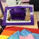 Purple Friday and Rainbow Pancakes
